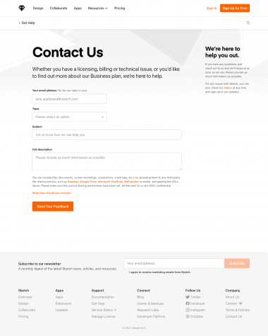 sketch-contact-us-page