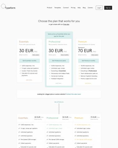 typeform-pricing