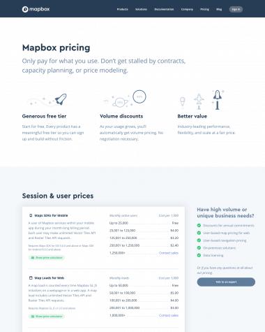 mapbox-pricing-page