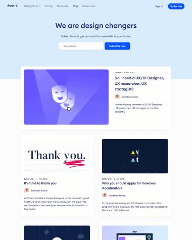 evolt-blog-page