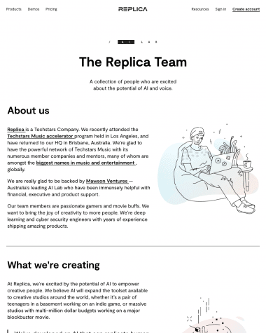 replica-about-us-page