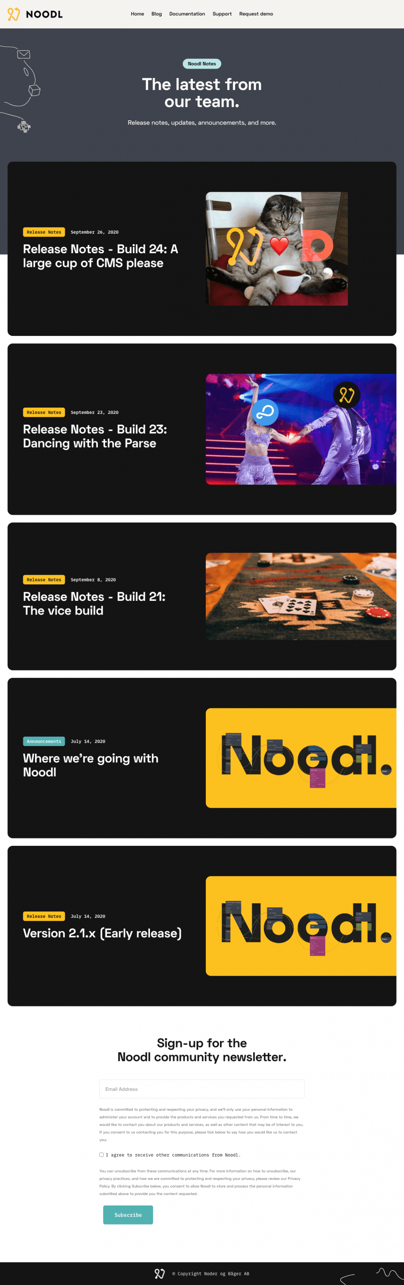 noodl-blog-page