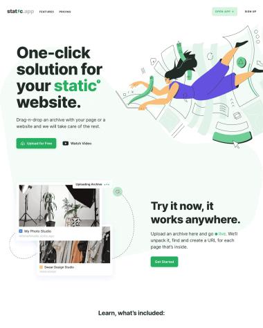 static-app